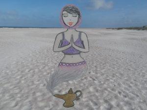 Arab girl genie