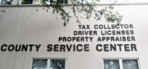Driver licenses office for exam