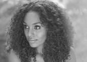 Ethiopian girl model