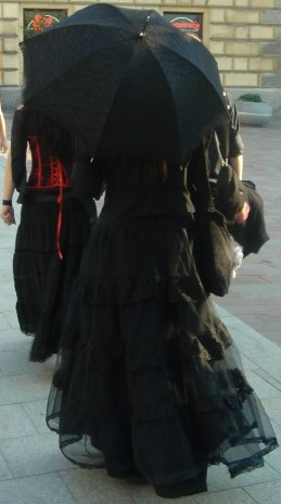 European Gothic girls