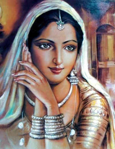 Kerala girls of southern India