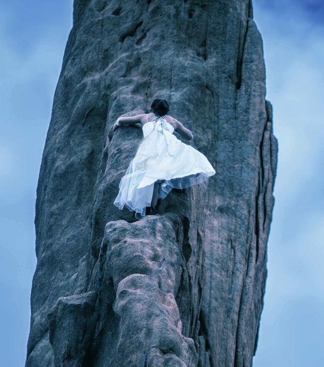 a bride who transcends