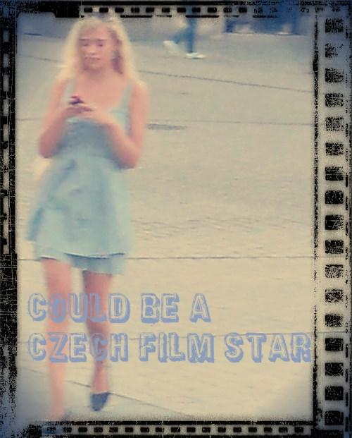 Czech girl star