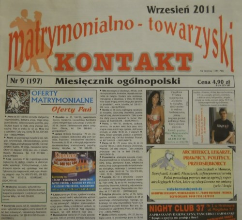 Newspapers brides Eastern Europe