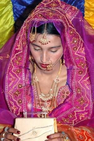 Simple but elegant Paki or Desi bride