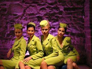 Russiann stewardess